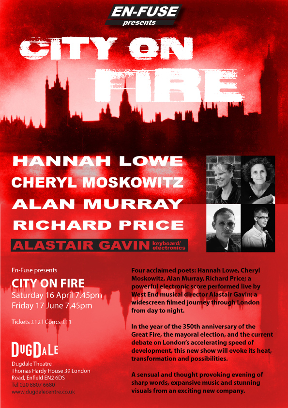 CITY ON FIRE poster_flyer